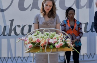 Jordanian Princess Pays Hommage to Genocide Victims