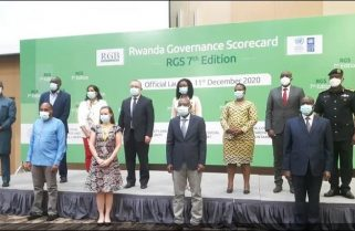 Safety and Security Leads in Rwanda Governance ScoreCard 2020