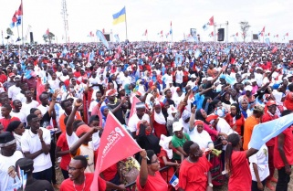 RPF Candidate Paul Kagame Rally in Gasabo District / 02 August 2017