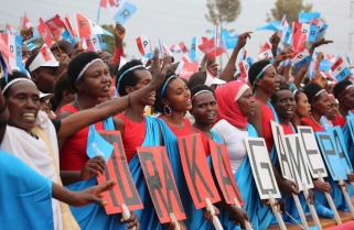 RPF Candidate Paul Kagame Rally in Rutare-Gicumbi District / 1st August 2017