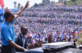 RPF Candidate Paul Kagame Rally in Rutsiro District / 27 July 2017