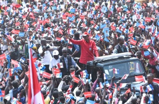 Exclusive Phots: RPF Candidate Paul Kagame Rally in Nyamasheke District / 29 July 2017