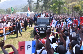 Kagame Reminds Voters Rusizi is Part of Rwanda