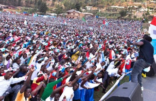 RPF Candidate Paul Kagame Rally in Burera District / 31 July 2017