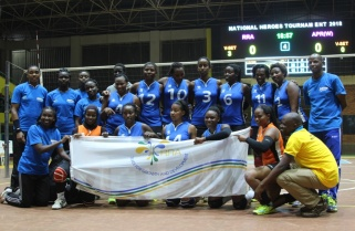 RRA, Gisagara Clubs Win Heroes Volleyball Tournament