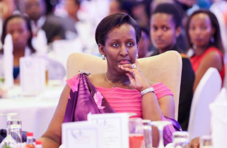 Rwanda's First Lady Receives Continental Award, Reiterates Her Commitment