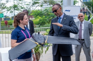 Kagame Roots for Life Saving Drones at First African Drone Forum