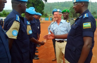 Rwanda sends more troops to Central Africa Republic
