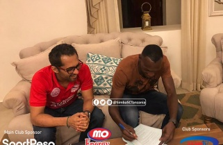 Kagere Renews Contract with Tanzanian Champions Simba SC