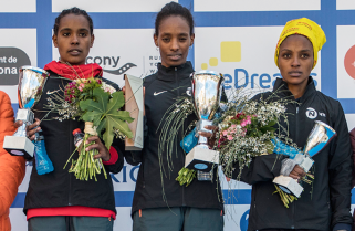 Nyirarukundo Defies Odds to Win Bronze at Barcelona Half Marathon