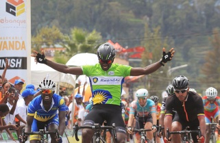 Rwandan Areruya is Africa's Second Best Cyclist