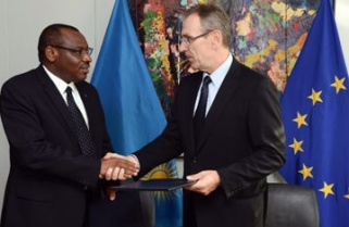 EU signs Rwanda €460m grant for development