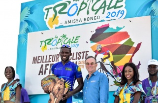 Amissa Bongo 2019: Areruya Crowned African Cyclist of the Year, Munyaneza Claims the Best Young Rider's Jersey