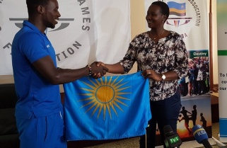 Sports Minister Uwacu Flags-off Commonwealth Team