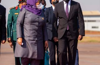 Hapa Kazi Tu: Tanzania's President Samia Suluhu Starts State Visit to Rwanda