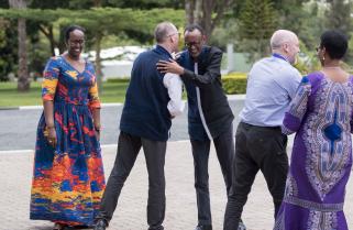 Photos: Light Moments at Umwiherero