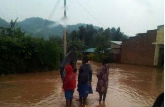 River Sebeya Burst Banks, Displaces Rubavu Residents