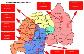Rwanda to Connect Ten Sectors without Electricity by June 2020