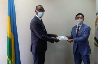 China Supports Rwanda Parliament's Effort to Fight COVID-19