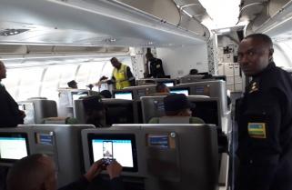 240 Rwanda Police Peacekeepers Jet off to South Sudan
