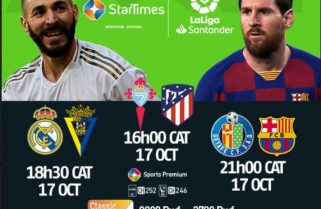 Sponsored: LaLiga on StarTimes –Barcelona, Real Looking to Maintain Unbeaten Record