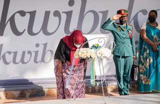 God Bless Them And Allow Them To Rest In Peace – President Suluhu At Kigali Genocide Memorial