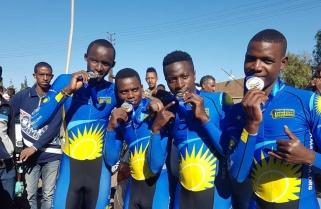 Team Rwanda Wins Silver at African Championships