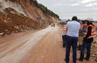 Works on Base-Gicumbi-Nyagatare Road Progressing Well