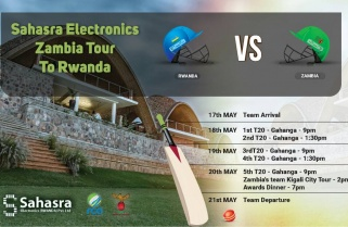 Rwanda hosts Zambia in a historical 5-match T20 Series