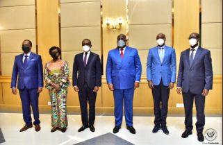 Min. Biruta Delivers President Kagame's Message to DRC's Tshisekedi