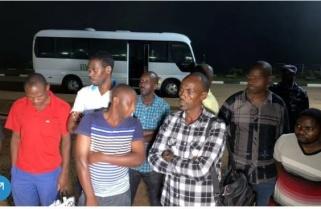Relief As 9 Rwandans Released by Uganda Arrive Home