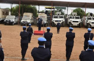 UNMISS Police Commissioner Lauds Rwandan Peacekeepers for 'Dedicated Service'