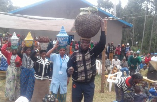 Rwanda Exhibits Her Rich Culture on First Harvest Day