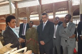 WHO Boss Breaks Down at Nyamata Genocide Memorial