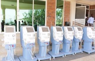 Rwanda Military Hospital Gets 10 Dialysis Machines