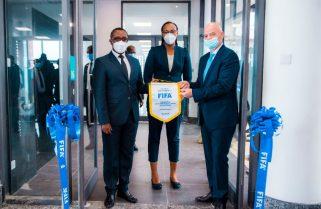 Infantino Opens FIFA Regional Headquarters In Kigali