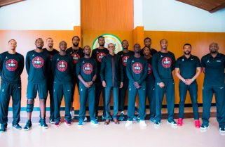 """""""Winning and Losing is Part of Life""""- President Kagame to the Patriots"""