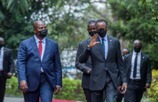 IN PICTURES: President Kagame Receives President Touadéra