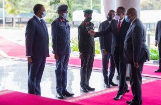PHOTOS: President Touadéra Visits RDF Headquarters