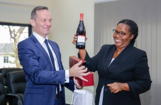 Rhineland Palatinate Introduces Grape Farming in Rwanda