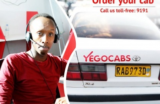 """YEGO cab"" – a New 'Low Cost' Taxi- Service Launched in Kigali"