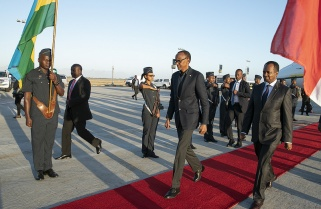 Kagame in Cape Town for  the Young Presidents' Organisation Summit