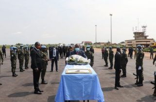 Back Home: Fallen RDF Peacekeeper to Be Laid to Rest Friday
