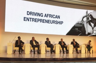 President Kagame in Egypt for Africa Business Forum