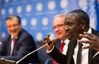 Akon Back in Kigali for Youth Connekt, Lighting Africa Initiative