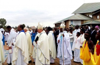 Rwandans Celebrate Assumption Day