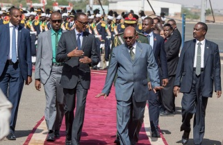 Kagame in Sudan for Two-Day State Visit