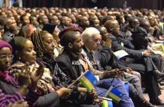 Rwandans in Belgium Warm up to Meet President Kagame