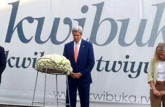 John Kerry Honours Victims of Rwanda's 'Horrendous Tragedy'