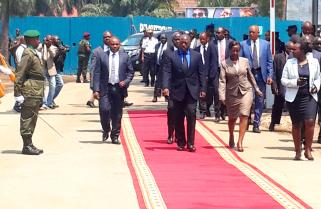 President Kabila Arrives in Rwanda for Talks